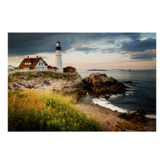 Portland Head Lighthouse   Cape Elizabeth, Me Poster