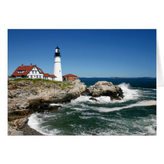 PORTLAND HEAD LIGHTHOUSE CARD