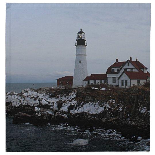 Portland Head Lighthouse Cloth Napkin