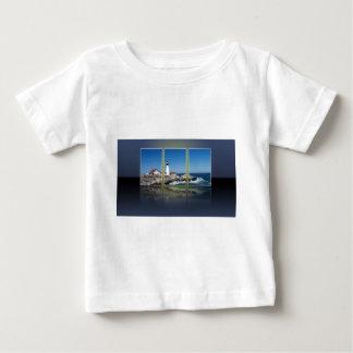 Portland Head Lighthouse Cut Up Baby T-Shirt