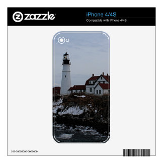 Portland Head Lighthouse iPhone 4 Decals