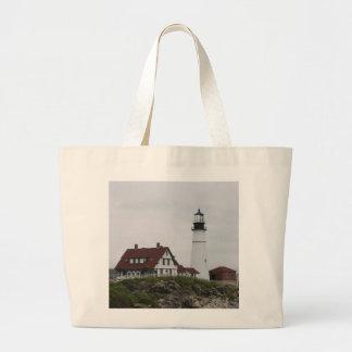 Portland Head Lighthouse Large Tote Bag
