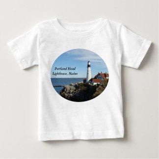Portland Head Lighthouse Maine Baby T-Shirt