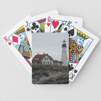 Portland Head Lighthouse, Maine Bicycle Playing Cards