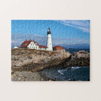 Portland Head Lighthouse, Maine Jigsaw Puzzle