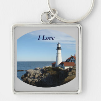 Portland Head Lighthouse Maine Keychain