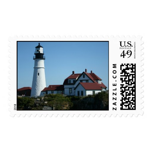 Portland Head Lighthouse, Maine Postage Stamps