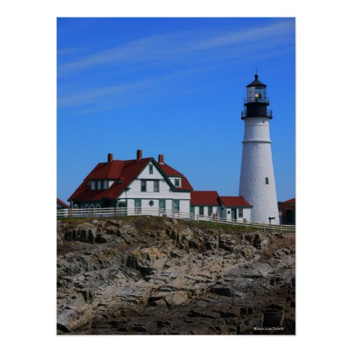 Portland Head Lighthouse, Maine Poster zazzle_print