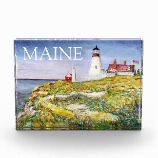 Portland Head Lighthouse Maine Watercolor Painting Acrylic Award