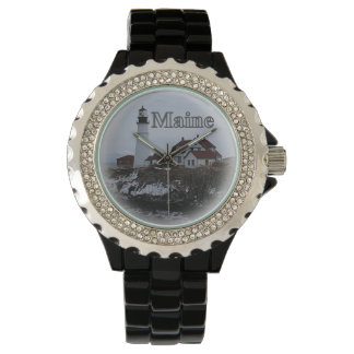Portland Head Lighthouse Maine Wrist Watch