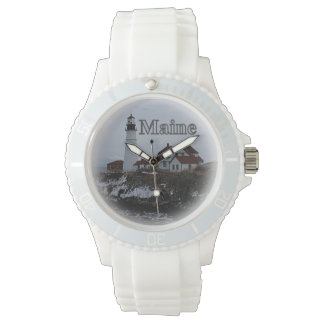 Portland Head Lighthouse Maine Wrist Watches