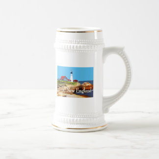 Portland Head Lighthouse New England Beer Stein
