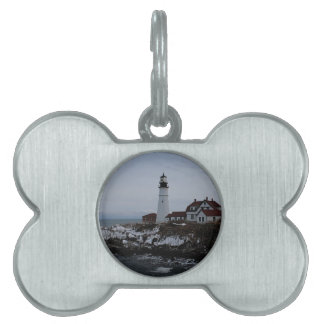 Portland Head Lighthouse Pet ID Tag