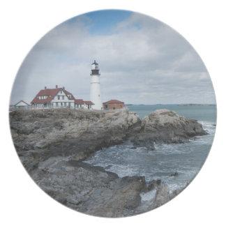Portland Head Lighthouse Plate