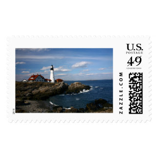 Portland Head Lighthouse Stamp