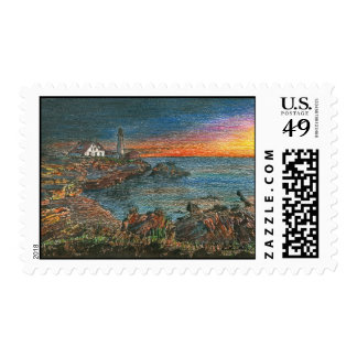 Portland Head Lighthouse Stamps