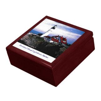 Portland Head Lighthouse Trinket Box