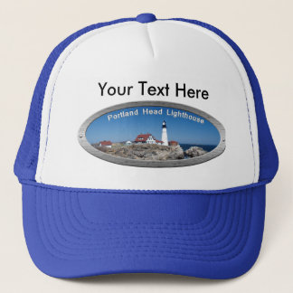Portland Head Lighthouse Trucker Hat