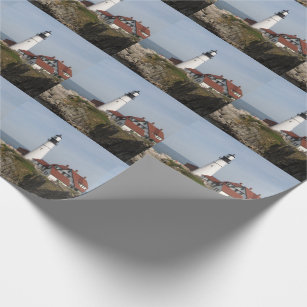 Portland Head Lighthouse Wrapping Paper