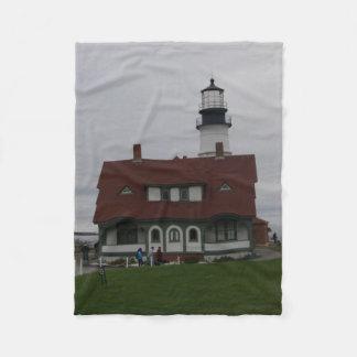 Portland Headlight Fleece Blanket