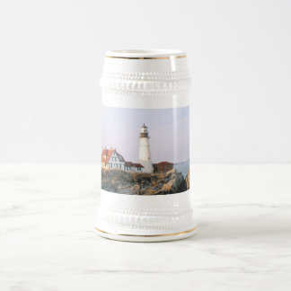 Portland Headlight Lighthouse in Maine Beer Stein