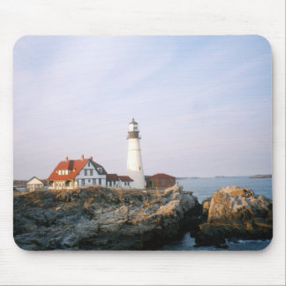 Portland Headlight Lighthouse in Maine Mouse Pad