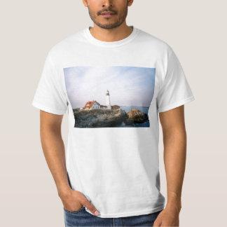 Portland Headlight Lighthouse in Maine T-Shirt