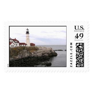 Portland Headlight Postage Stamp