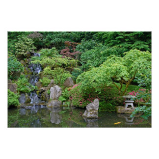 Portland Japanese Garden Posters