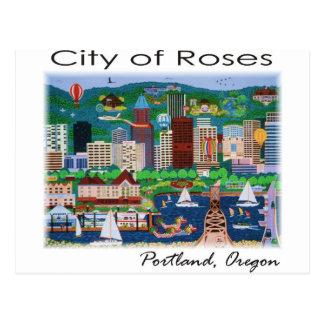 Portland~ la ciudad de rosas postales