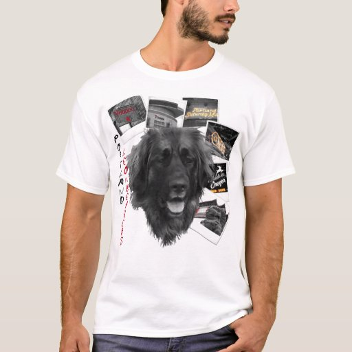Portland leonbergers t shirt zazzle for Portland t shirt printing