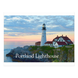 Portland Lighthouse Postcard