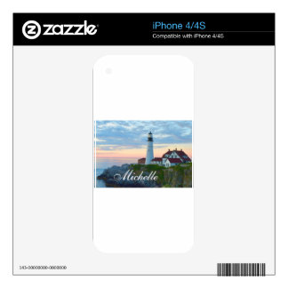 Portland Lighthouse Skins For The iPhone 4
