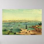Portland, Maine 1854 Impresiones