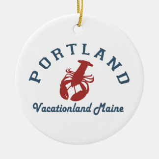 Portland Maine (2) Ceramic Ornament