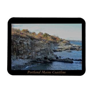 Portland Maine Coastline Magnet