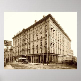 Portland, Maine Falmouth Hotel Circa 1900 Print