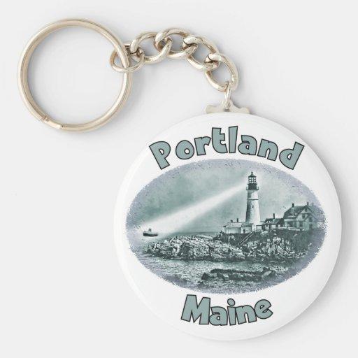 Portland, Maine Key Chain