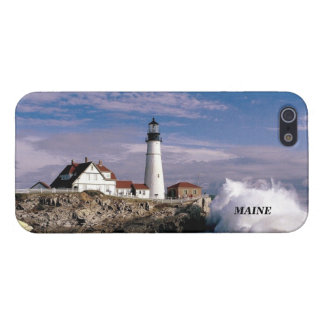 PORTLAND MAINE LIGHTHOUSE iPhone SE/5/5s CASE