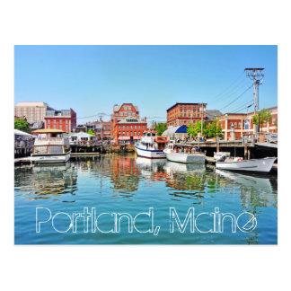 Portland Maine los E E U U Postal