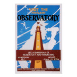 Portland, Maine Observatory Poster
