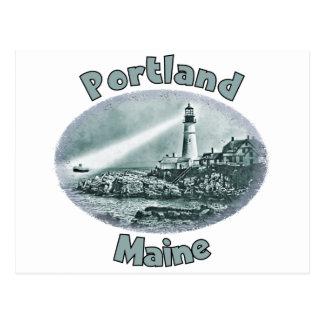 Portland, Maine Postcard