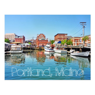 Portland, Maine, U.S.A. Post Card