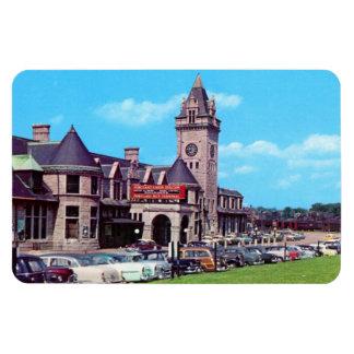 Portland, Maine Union Station Circa 1950s Magnet Magnet