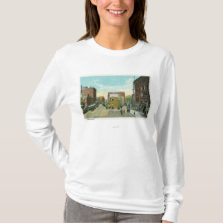 Portland, MaineScenic View of Congress Square T-Shirt