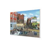 Portland, MaineView of Congress Square Canvas Print