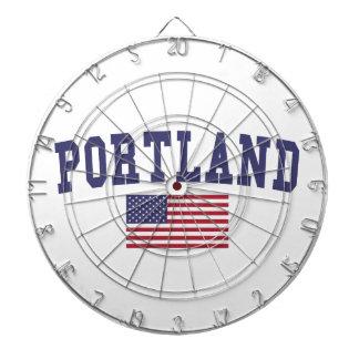 Portland O bandera de los E.E.U.U.
