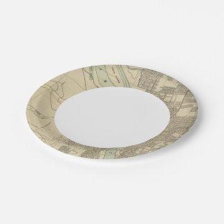 Portland, o plato de papel de 7 pulgadas