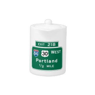 Portland, O señal de tráfico