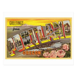 Portland, O tarjeta de letra grande Tarjetas Postales
